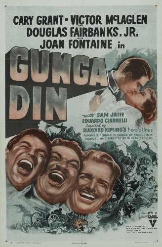 Gunga Din POSTER Movie (27 x 40 Inches - 69cm x 102cm) (1939) (Style C)