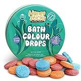 Honeysticks - Natürliche Badekugeln für Kinder aus natürlichen und lebensmittelechten Zutaten. Ausgezeichnetes Geschenk als Badespielzeug für Kinder. Geruchlos und es gibt insgesamt 36 Bälle.