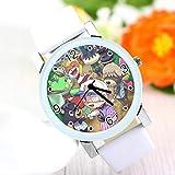 XINFA Cruce Animales Animal Sen Animal Crossing Es El Mismo Reloj Reloj De Cuarzo para Niños Y Niñas.