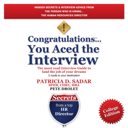 Congratulations You Aced the Interview! audiobook cover art