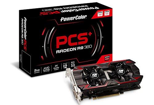 PowerColor PCS+ AMD Radeon R9 380 2GB GDDR5 2DVI/HDMI/DisplayPort...