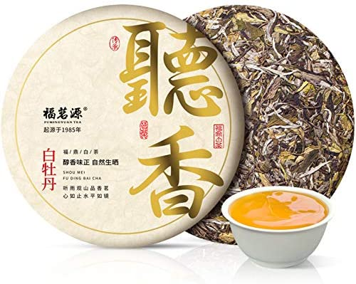 FUDING Old White Tea Cake Peony B Mountain lowest 2021 spring and summer new price Gift Spring
