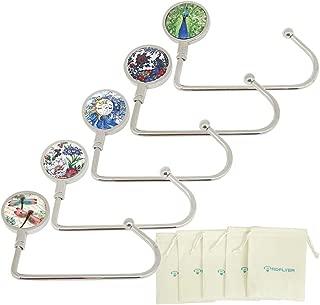 Purse Hook for Table Bar Nature Instant Swivel Top Long Bag Hanger Under Counter Handbags Hooks