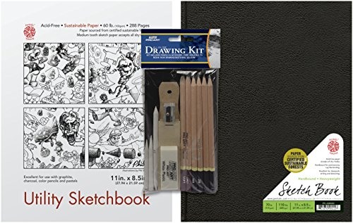 Pentalic All in One Value Pack Drawing Set