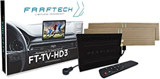 Receptor de TV Digital Automotivo Full HD Sintonizador Faaftech