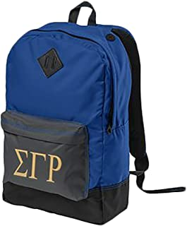 Sigma Gamma Rho Retro Backpack Royal Blue