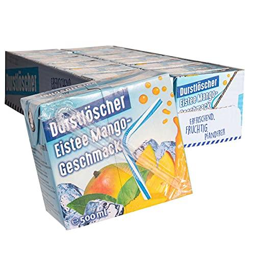 WeserGold - Durstlöscher Eistee Mango 12x0,5L