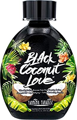 Tanning Paradise Black Coconut
