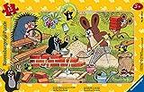 Ravensburger Kinderpuzzle - 06151 Der kleine Maulwurf und seine Freunde - Rahmenpuzzle für Kinder ab 3 Jahren, mit 15 Teilen