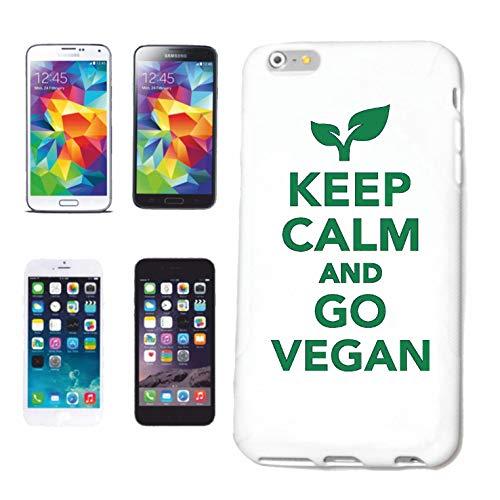 Reifen-Markt Funda para iPhone 5 / 5S KEP Calm and Go Vegan Vegan Vegan In Vegetarier Hard Case Cover Smart Cover