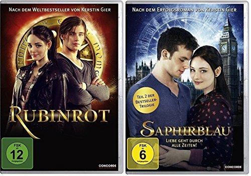 Rubinrot und Saphirblau - Teil 1 & 2 der Edelsteintrilogie im Set - Deutsche Originalware [2 DVDs]