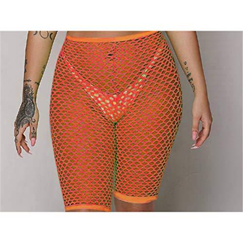 ISKER Badpak Broek Vrouwen 2019 Beach Cover Up Broek Mesh Sheer Broek Vrouwen Visnet Doorschijnend Hoge Taille Mesh Badpakken Bodem