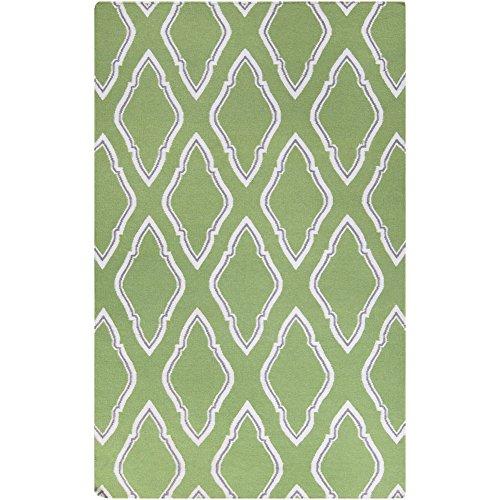 Surya Jill Rosenwald Fallon FAL-1096 Hand Woven 100-Percent Wool Geometric Accent Rug, 3-Feet 6 by 5-Feet 6-Inch
