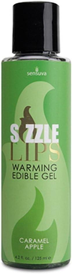 SEN-VL494 Denver Mall - Sizzle In a popularity Lips Warming 4.2 Caramel Gel Apple Edible