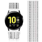 AVOD Bracelet de rechange en nylon 22 mm pour montre Ticwatch Pro/Asus Vivowatch/Galaxy 46 mm, Gear S3 Frontier/Classic, 22mm