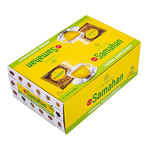 Samahan - Bevanda naturale ayurvedica a base di piante, per la tosse e i raffreddore, 4g,...