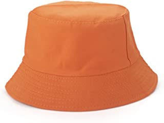 3e02d8a6c8fa5 Opromo Blank Cotton Bucket Hat Fishing Hunting Hat Unisex Summer Outdoor Cap