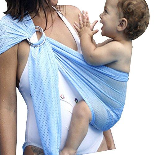 Babytragen, aliyao Baby Tragetuch atmungsaktives Mesh Verstellbar Wasser Ring gewickelt, Quick Dry