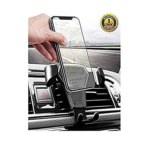 TQCS Handyhalterung Auto KFZ Handyhalter fürs Auto Lüftung Kratzschutz 360°Drehbarem Gelenk Universal Kompatibel für iPhone8/7/6 Samsung/Huawei Smartphone (Schwarz01)