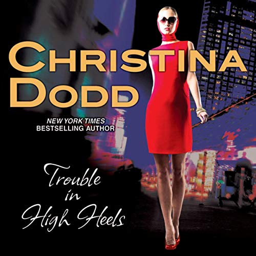 Trouble in High Heels audiobook cover art