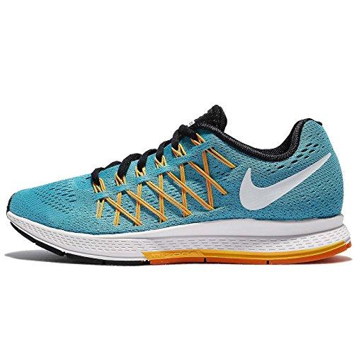 Nike Damen WMNS Air Zoom Pegasus 32 Laufschuhe, Azul GMM Bl White LSR Orng VVD Orng, 36 EU