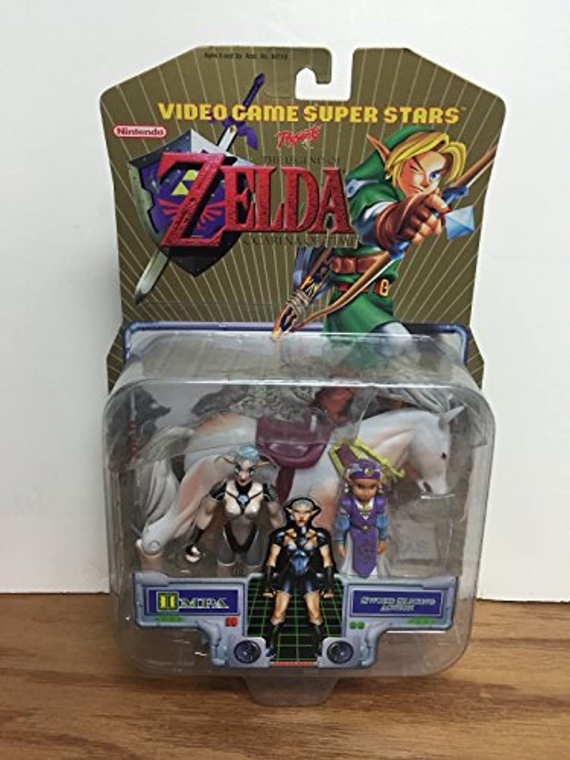 Video Game Superstars Presents the Legend of Zelda  Impa with Horse