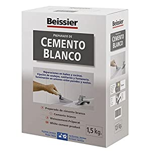 51MumzpnLqL. SS300  - 5448B11 - Cemento blanco aditivado para cerámica Beissier 1,5 kg