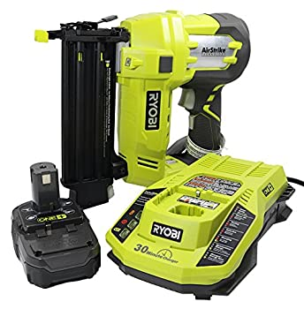 Battery Powered Brad Nailer kit, Ryobi