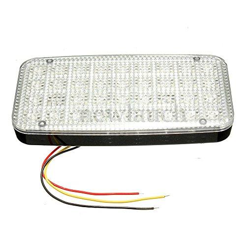 Vaorwne 12V Blanco Brillante 36 LED Car Van Vehicle Roof Dome Interior Light Hat Lamp