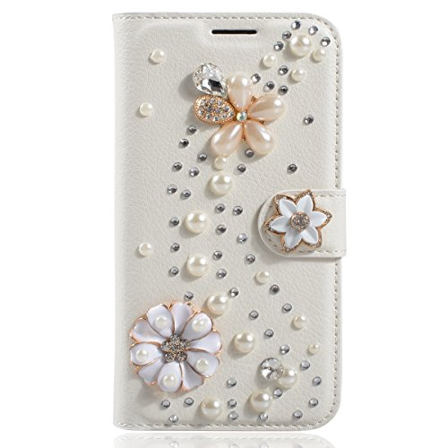 Galaxy Note 8 Case,Gift_Source [Card Slots] [Stand Feature] Premium Wallet Flip Case Bling Crystal Diamond PU Leather Folio Magnetic Cover for Samsung Galaxy Note8 (6.3