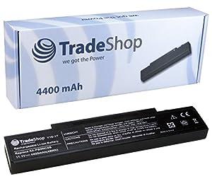 Hochleistungs AKKU 4400mAh in schwarz für SAMSUNG E-, P-, Q-, R-, RF Serie ersetzt AA-PB9NC6B AA-PB9NS6B AA-PB9NC6W Q318 R408 R458 R468 R519 R710 R522 R520 R580 R780 R460