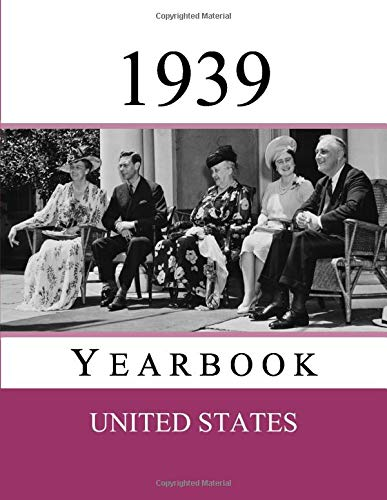 1939 US Yearbook: Original book full of facts and figures from 1939 - Unique birthday gift / present idea.