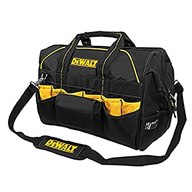 DEWALT DG5553 40 Pocket 18 Inch Pro Contractor's Closed Top Tool Bag