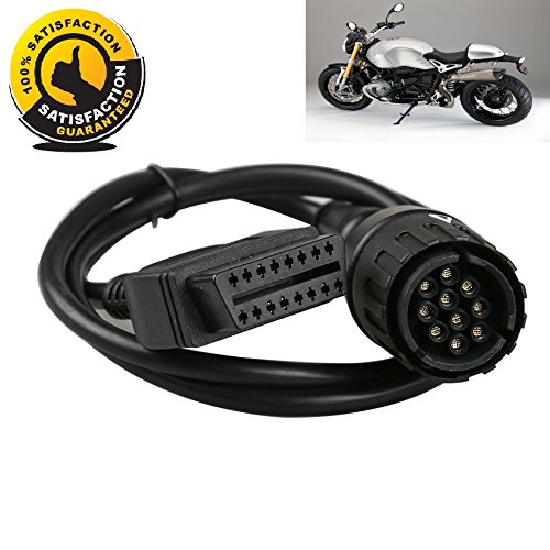 AntiBreak Motor 10pin OBD Diagnostic Cable Adapter Used for Motorcycles