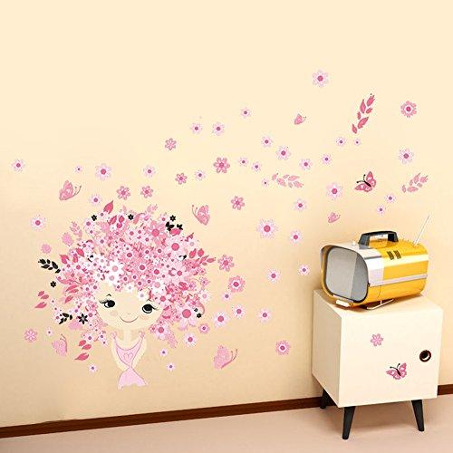 Autocollant Décoration Murale, Chambre d'enfants Princess Castle