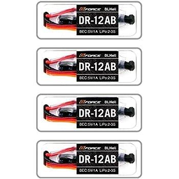 ジーフォース DR-12AB ブラシレスESC 4個セット G0211