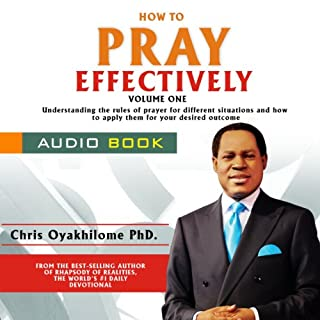 How to Pray Effectively, Volume 1 cover art