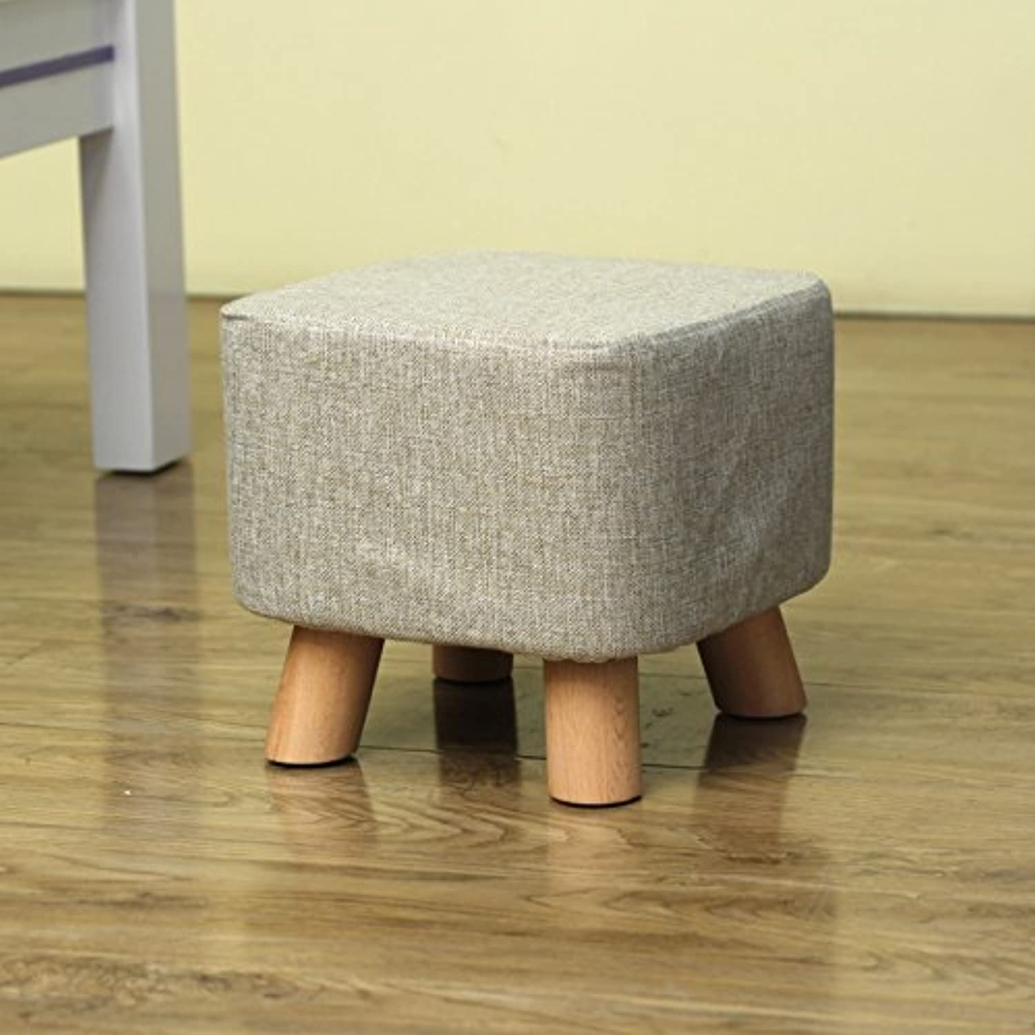 Dana Carrie Sofa Chairs Stylish and Creative Party stool Solid Wood Changing shoes stool Dressing Bench wear shoes Bench Seating, Coffee is Served stool Footstool, Pixel color