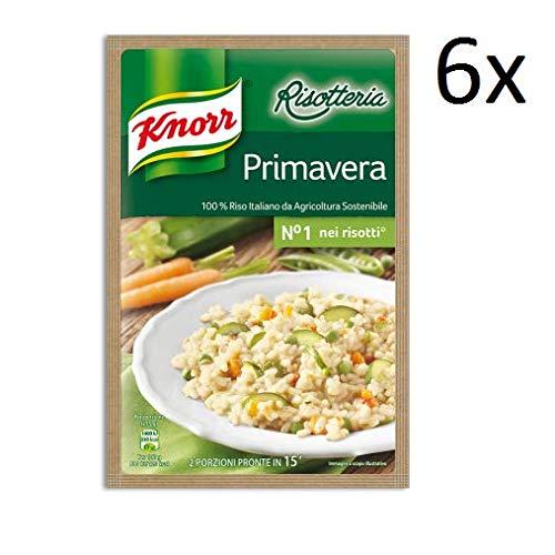 6x Knorr Risotto primavera Reis Frühling 175g 100% italienisch Fertiggerichte