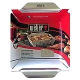 Weber 6434 Deluxe Ss Vegetable Basket, Stainless Steel