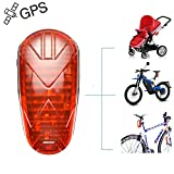 Winnes GPS Bike Tracker Anti Theft ,Bicycle Tailight GPS Tracker Waterproof Real Time Secure Anti-Theft...