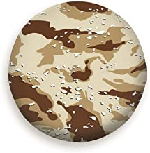 topkingstore Camouflage American Desert Uniform The Arts Spare Wheel Tire Cover Waterproof Dust-Proof Universal for Jeep,Trailer, RV, SUV and Many Vehicle 14