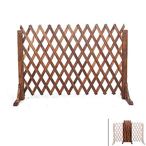 Gartenzaun, expandierende Gittergartenkantengrenze, hochwertige Holzgitter-Paneele für Außengarten-Partitionen dekorativ (Size : 70x160cm)