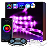 "80"" inch USB Smart WiFi LED Strip Lights for Room,Kitchen, Smart Phone APP Controlled LED Tape…"