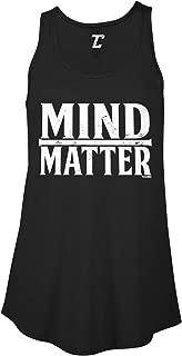 Mind Over Matter - Inspirational Gym Fitness Women's Flowy Tank Top