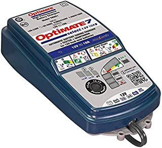 OptiMATE 7 SELECT, TM-251, 9-step 12V 10A sealed battery saving charger & maintainer