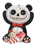 SUMMIT COLLECTION Furrybones Pandie Signature Skeleton in Innocent Panda Bear Costume with Beheaded Doll