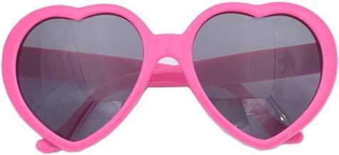 Fashion Large Women Lady Girl Oversized Heart Shaped Retro Sunglasses Cute Love Eyewear