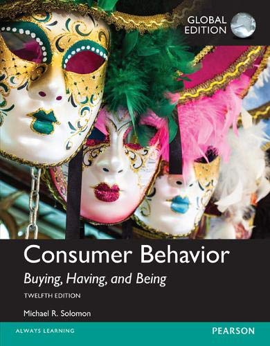 Image OfConsumer Behavior: Buying, Having, And Being, Global Edition