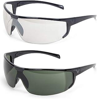 Óculos De Sol Bike Esportivo Univet + Noturno Transparente